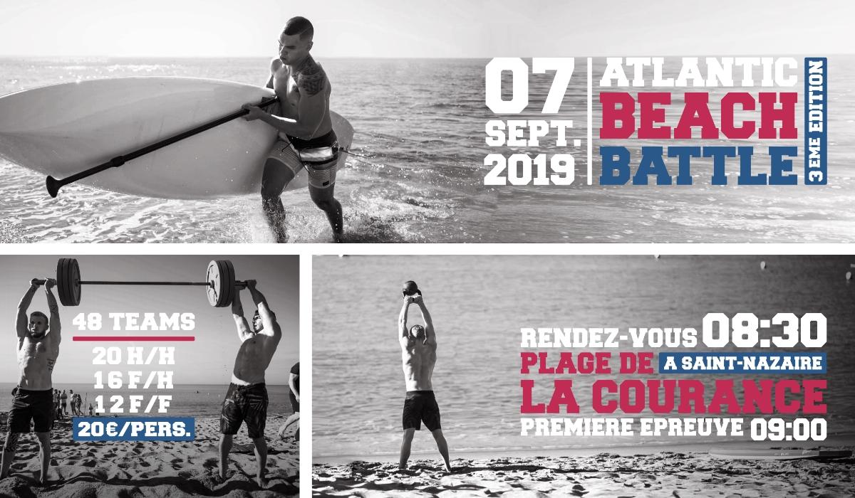 crossfit beach battle septembre 2019 à saint-nazaire